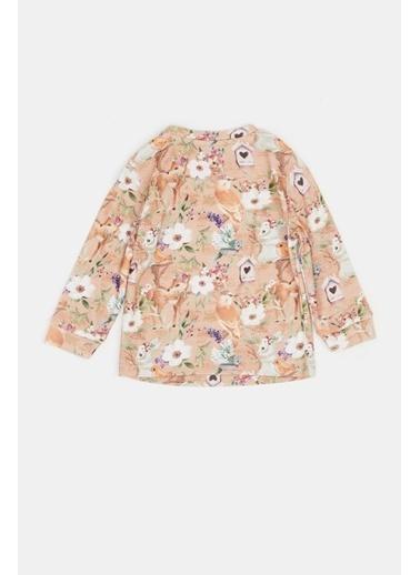 BG Baby Kız Bebek Desenli Pijama Takımı 20Fw0Bg2808 Renkli